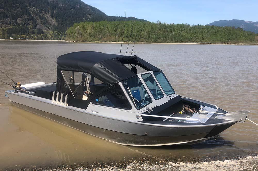 BC Sturgeon Fishing Boat