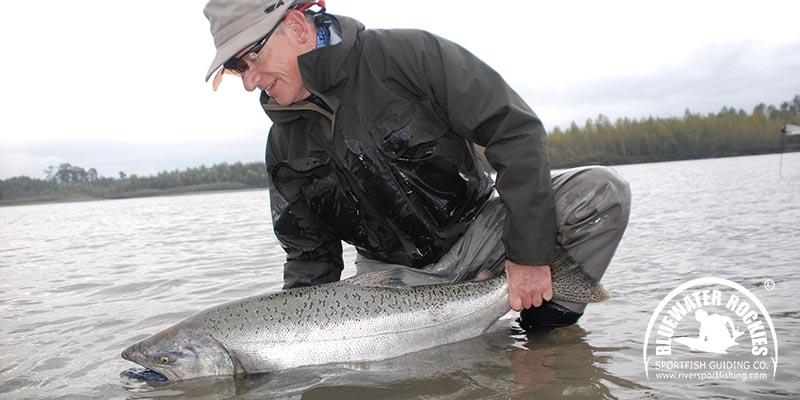 BC Chinook Salmon Fishing Charters