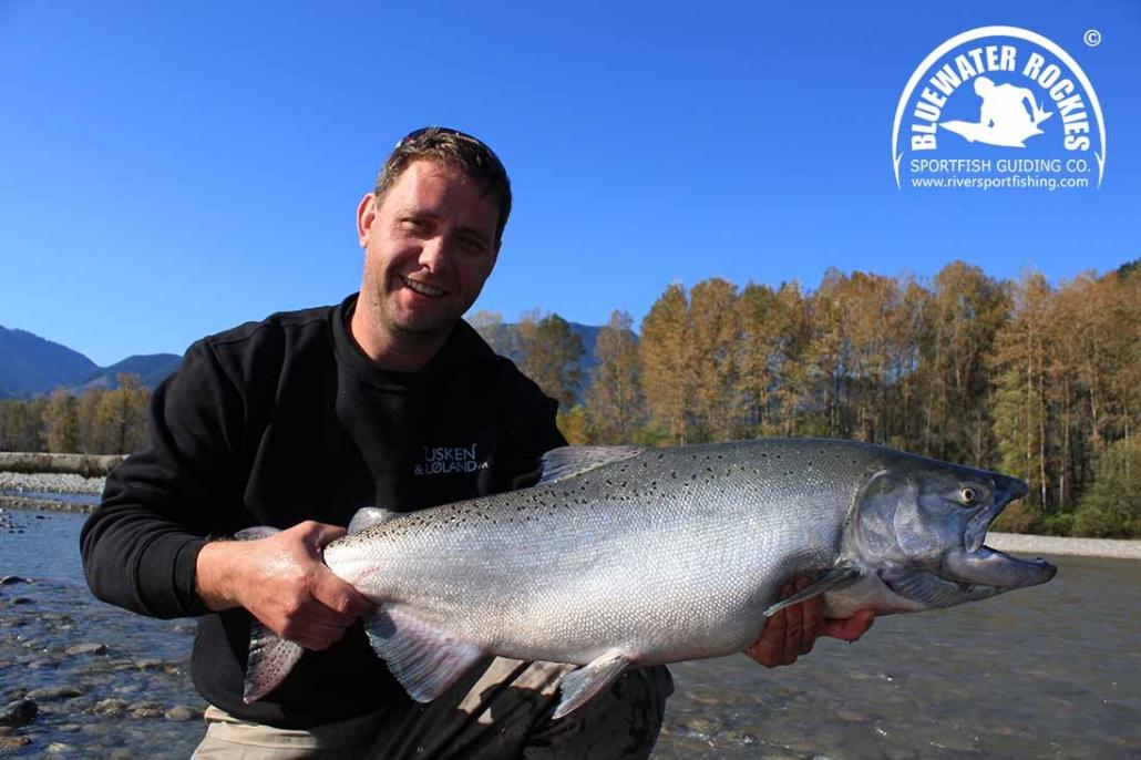 BC Chinook Salmon Fishing
